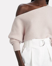 Jacqueline Off-The-Shoulder Sweater, IVORY, hi-res