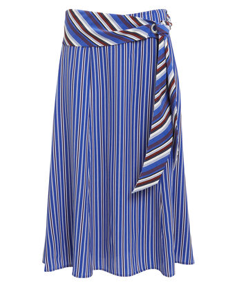Felix Skirt, BLUE/STRIPE, hi-res