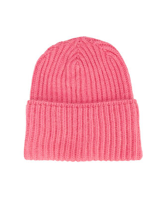 Pink Knit Hat, PINK, hi-res