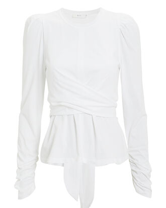 Alexis Top, WHITE, hi-res