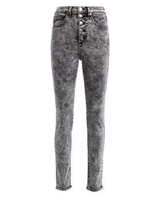 Maera Acid Wash Skinny Jeans, ACID BLACK DENIM, hi-res