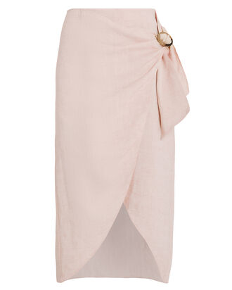 Delia O-Ring Skirt, BEIGE, hi-res