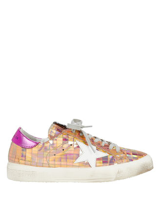 May Mirror Rose Gold Sneakers, GOLD, hi-res