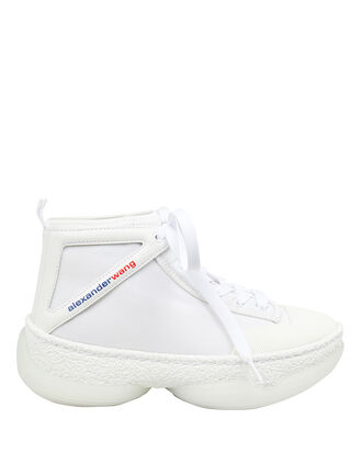 A1 High-Top Sneakers, WHITE, hi-res
