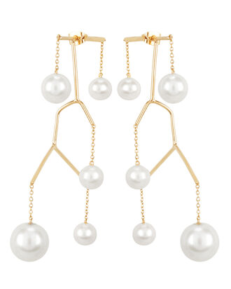 Kinetic Perle Earrings, GOLD, hi-res