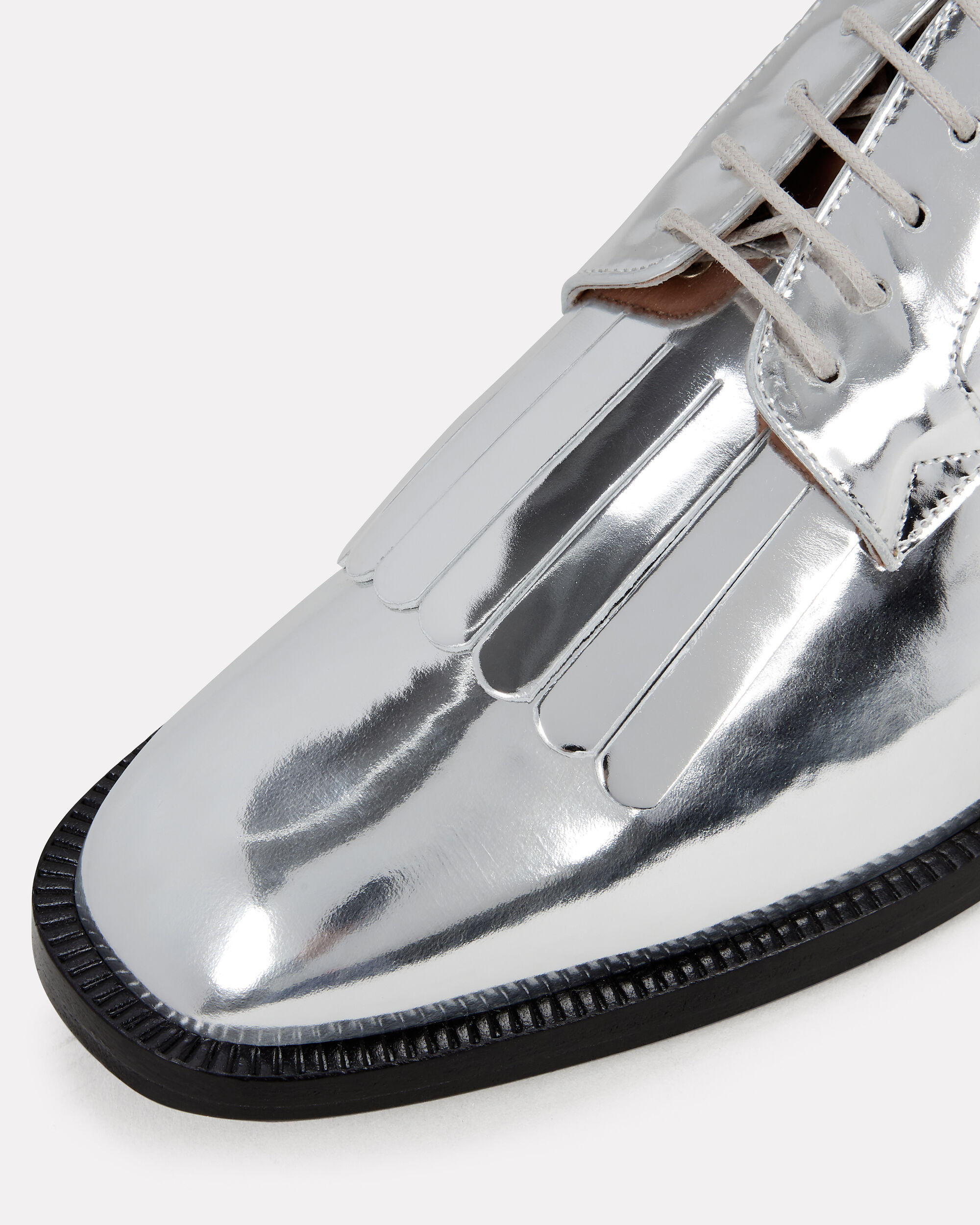 Yvan Silver Loafers, SILVER, hi-res