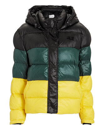 Hooded Puffer Coat, MULTI, hi-res