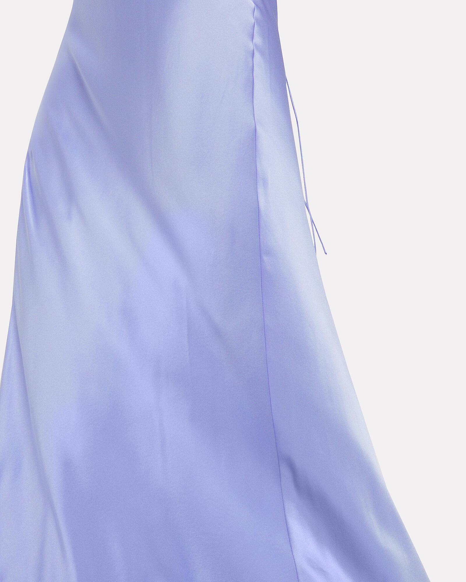 Bias Cut Silk Charmeuse Gown, BLUE-LT, hi-res