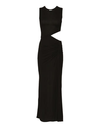 Jaxon Cutout Dress, BLACK, hi-res