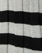 Striped Turtleneck Pullover, GREY-LT, hi-res