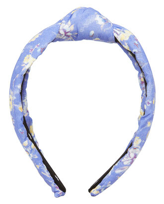 Bluejay Knotted Headband, LIGHT BLUE, hi-res