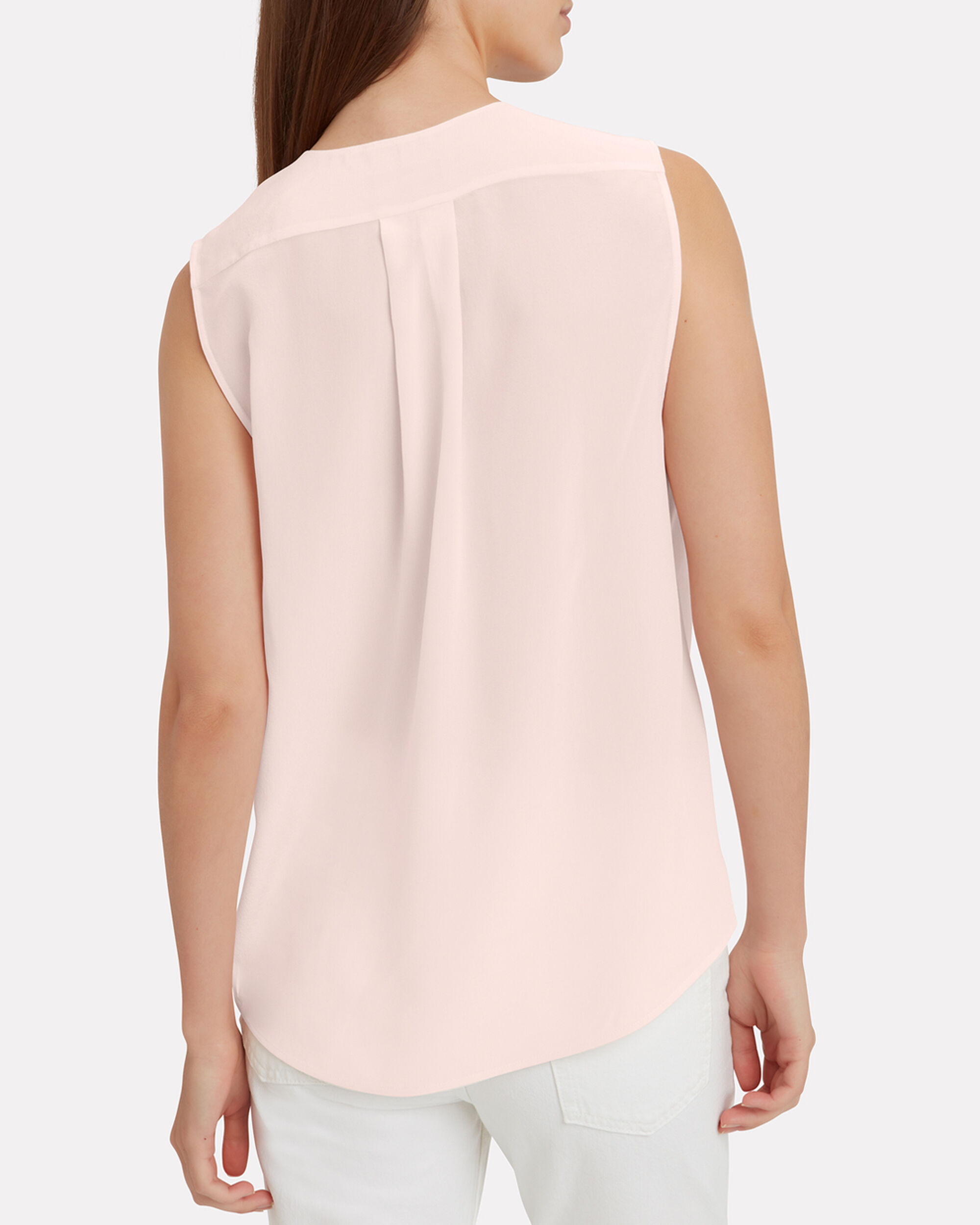 Victor Baby Pink Wrap Blouse, PINK, hi-res
