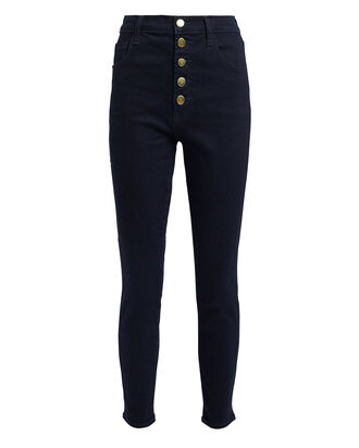 Lillie High-Rise Skinny Jeans, DARK WASH DENIM, hi-res