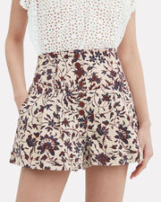 Cass Shorts, IVORY/RED FLORAL, hi-res