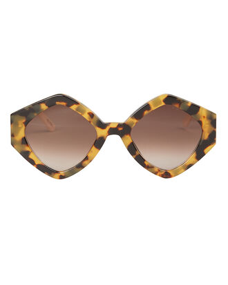 Romeo And Juliet Sunglasses, BROWN/WHITE, hi-res