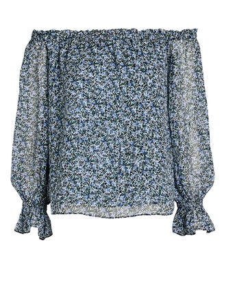 Thea Floral Off-the-Shoulder Top, , hi-res