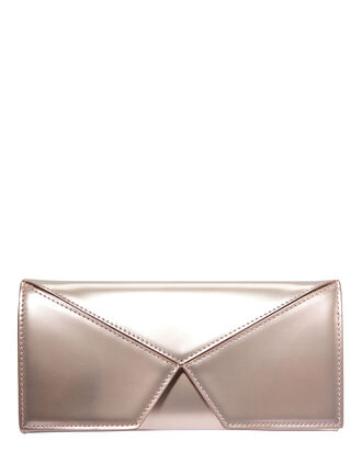 Jack Metallic Pink Clutch, PINK, hi-res