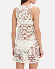 Crochet Mini Dress, WHITE, hi-res