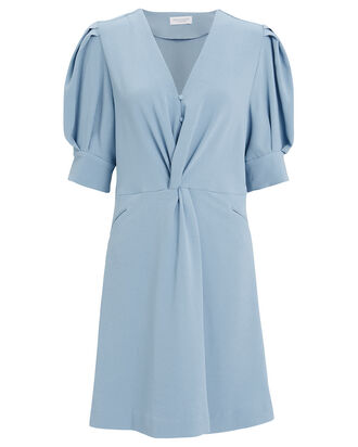 Maria Mini Dress, LIGHT BLUE, hi-res