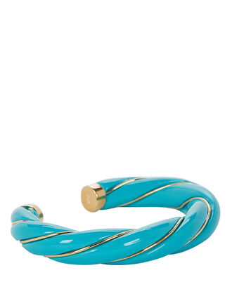 Diana Twisted Bracelet, TURQUOISE/GOLD, hi-res