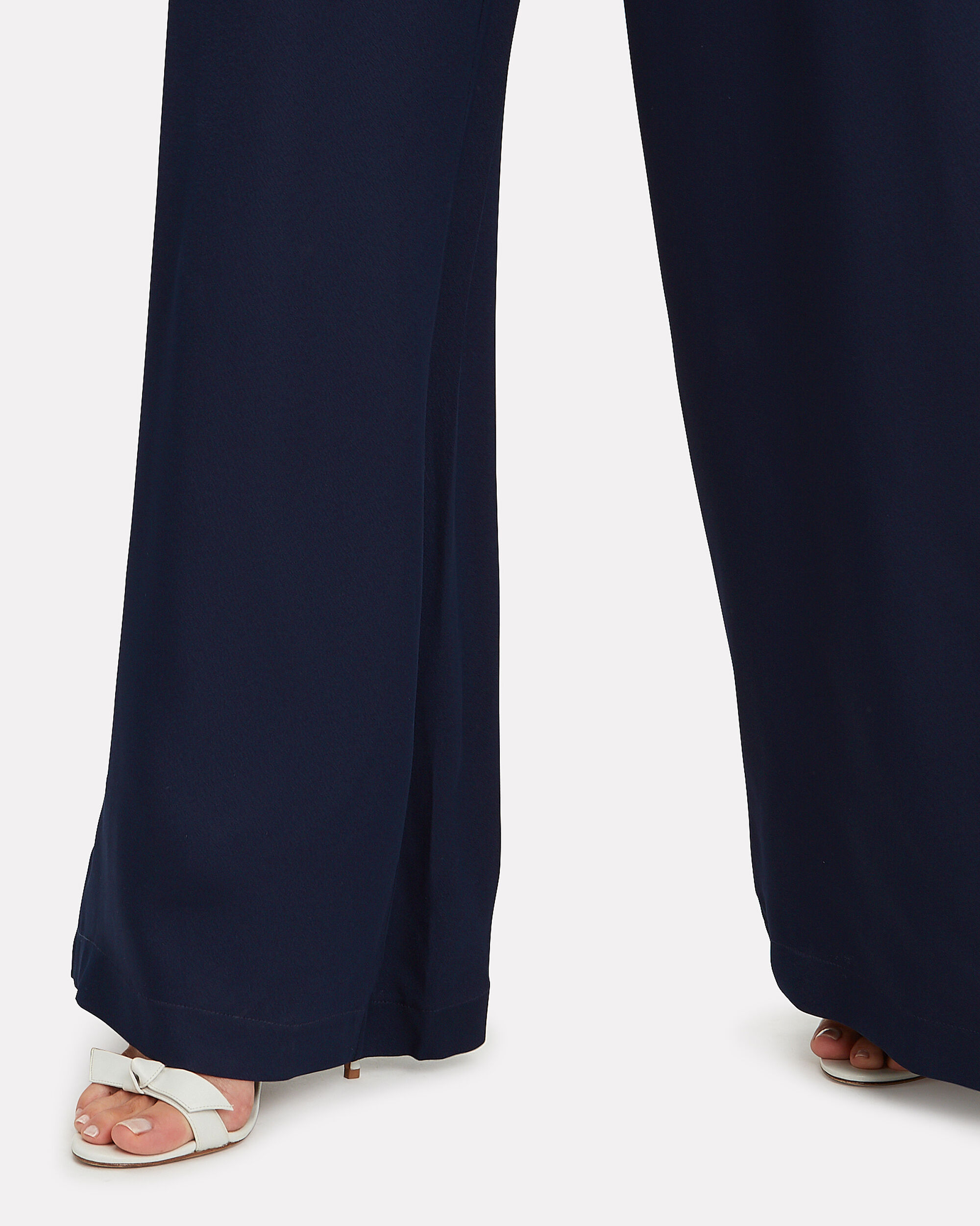 Coco Trousers, NAVY, hi-res