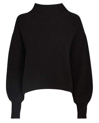 Helena Funnel Neck Rib Knit Sweater, , hi-res