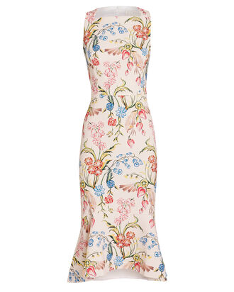 Kia Cady Floral Dress, WHITE/FLORAL, hi-res