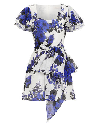 Show Me Love Mini Dress, BLUE/FLORAL, hi-res