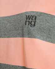 Wash & Go Striped Jersey Tee, PINK/GREY STRIPE, hi-res