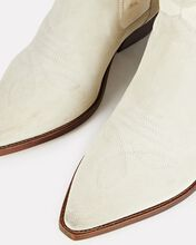 Demar Western Ankle Boots, IVORY, hi-res