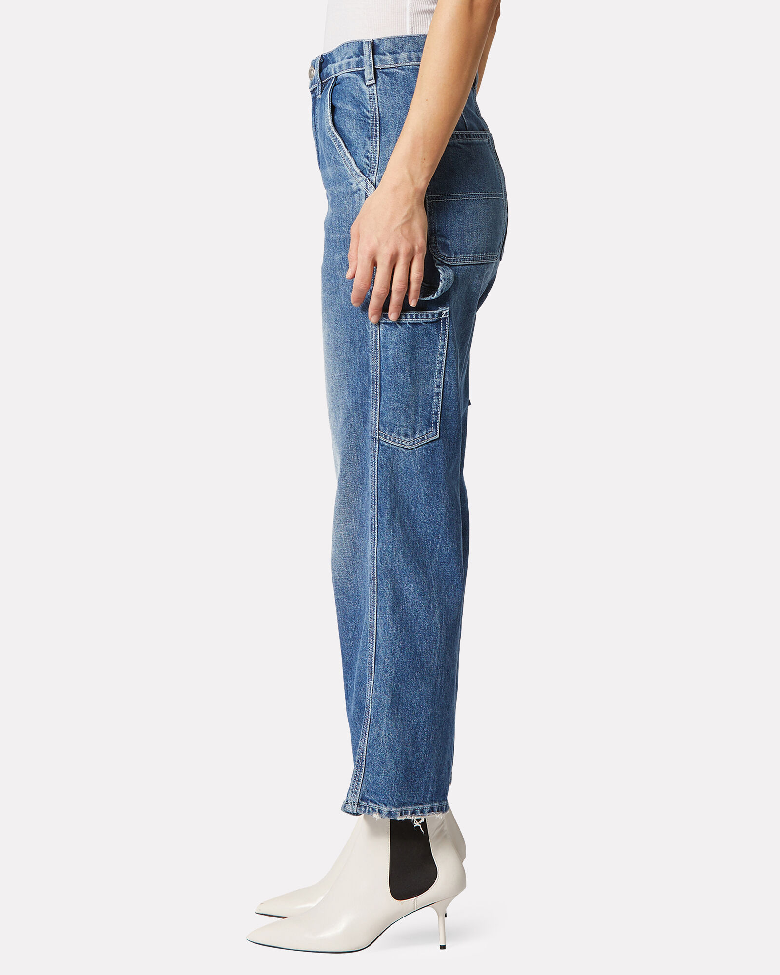 Carpenter High-Rise Jeans, MEDIUM WASH DENIM, hi-res