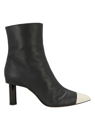 Grant Leather Booties, BLACK, hi-res