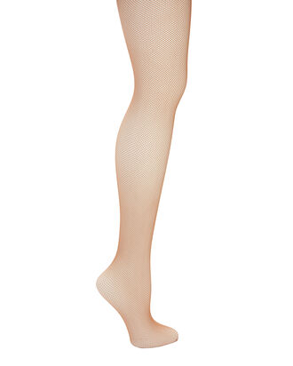 Twenties Fishnet Beige Tights, BEIGE, hi-res