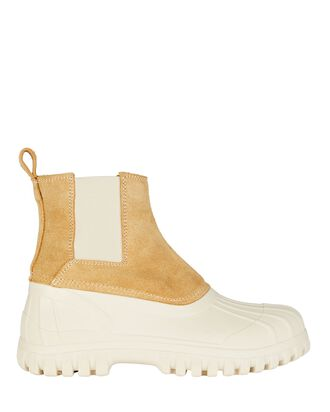 Balbi Chelsea Rubber Ankle Boots, IVORY, hi-res