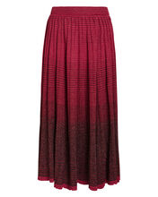 Billie Gradient Pleated Maxi Skirt, GRADIENT PINK, hi-res