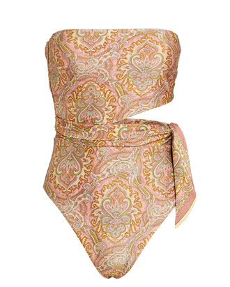 Freja Paisley One-Piece Swimsuit, BLUSH/PAISLEY, hi-res