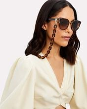 Chain-Link Mask Chain, BROWN, hi-res