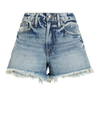 Le Simone Denim Cut-Off Shorts, RICHLAKE, hi-res