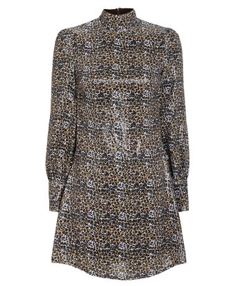 Melissa Leopard Sequin Dress, MULTI, hi-res