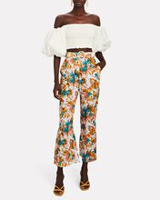 Estelle Kick Flare Floral Pants, MULTI, hi-res