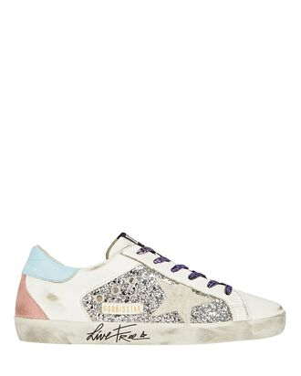 Superstar Low-Top Leather Sneakers, MULTI, hi-res