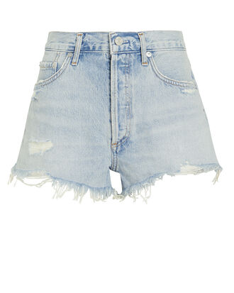 Parker Cut-Off Denim Shorts, DENIM-LT, hi-res