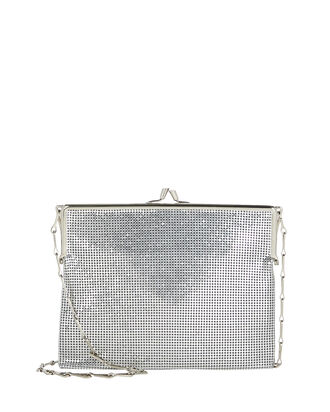 Pixel Frame 1969 Chainmail Bag, SILVER, hi-res