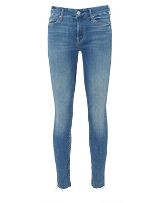 Looker Ankle Fray Jeans, BLUE-MED, hi-res