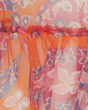 Val Sleeveless Paisley Top, ORANGE/PINK, hi-res