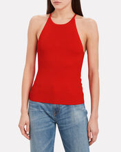 Mackenzie Knit Tank Top, ORANGE, hi-res