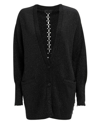 O'Neil Ring Cardigan, BLACK, hi-res