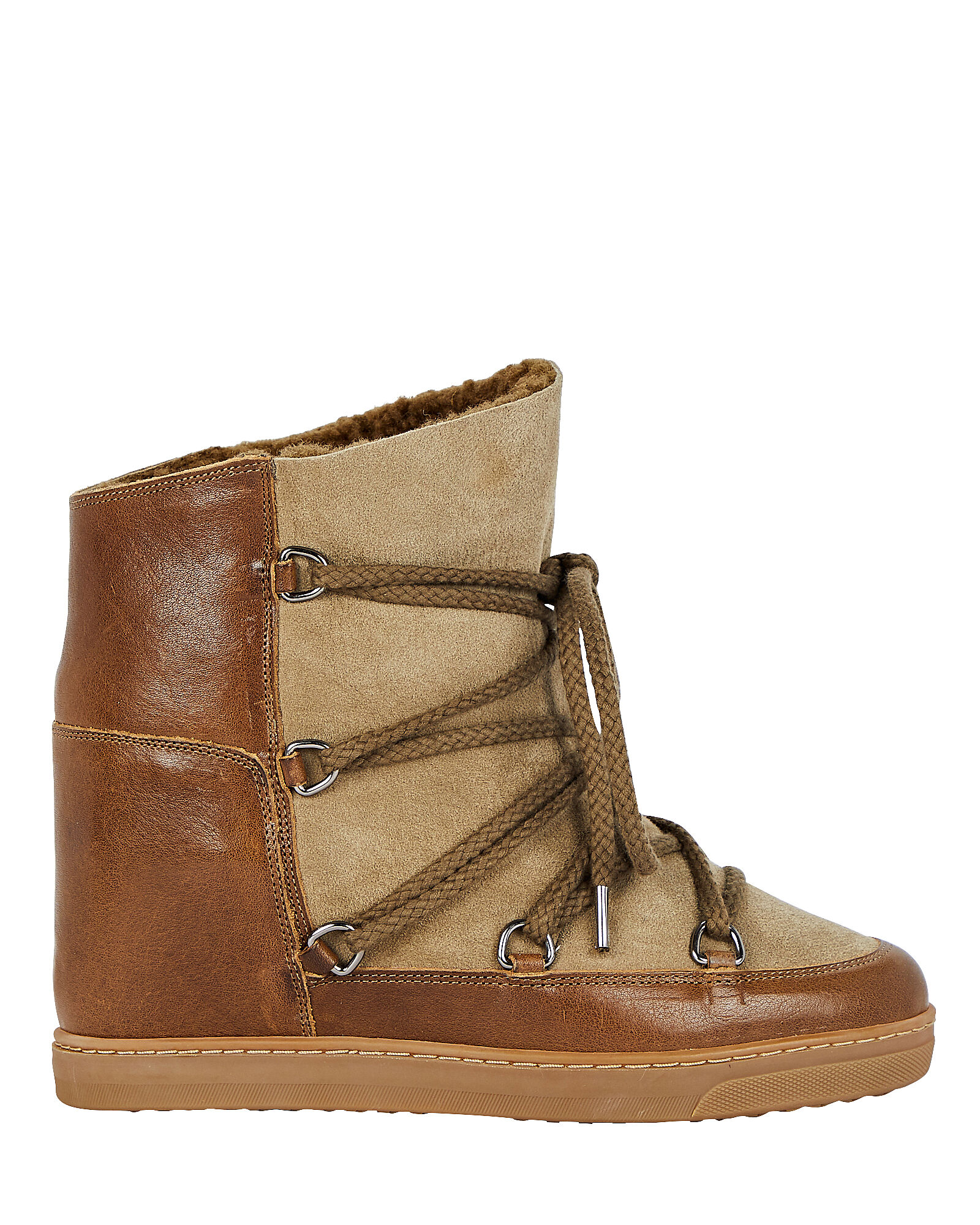 Isabel Marant Nowles Shearling Booties