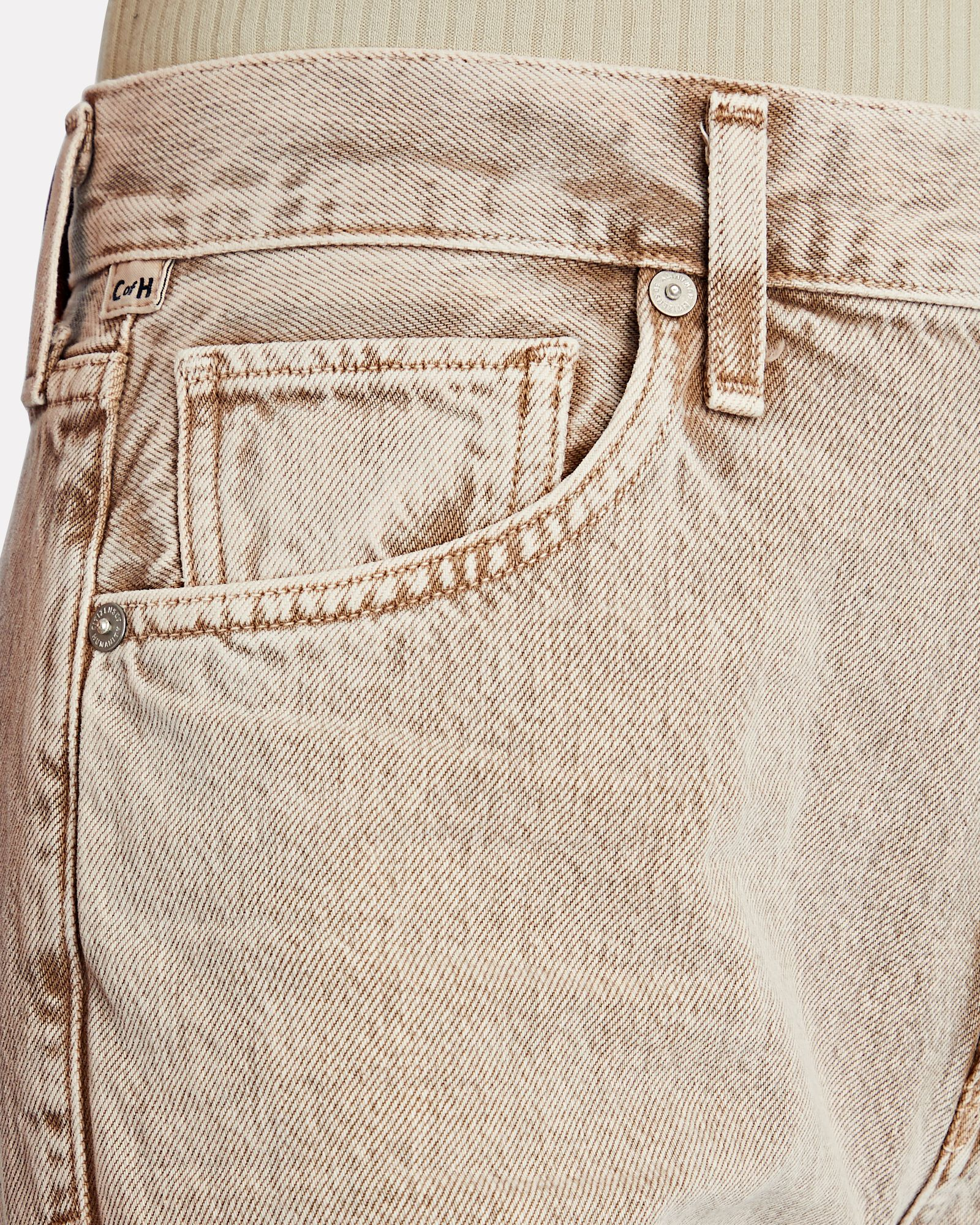 Marlee Relaxed Taper Jeans, BEIGE, hi-res