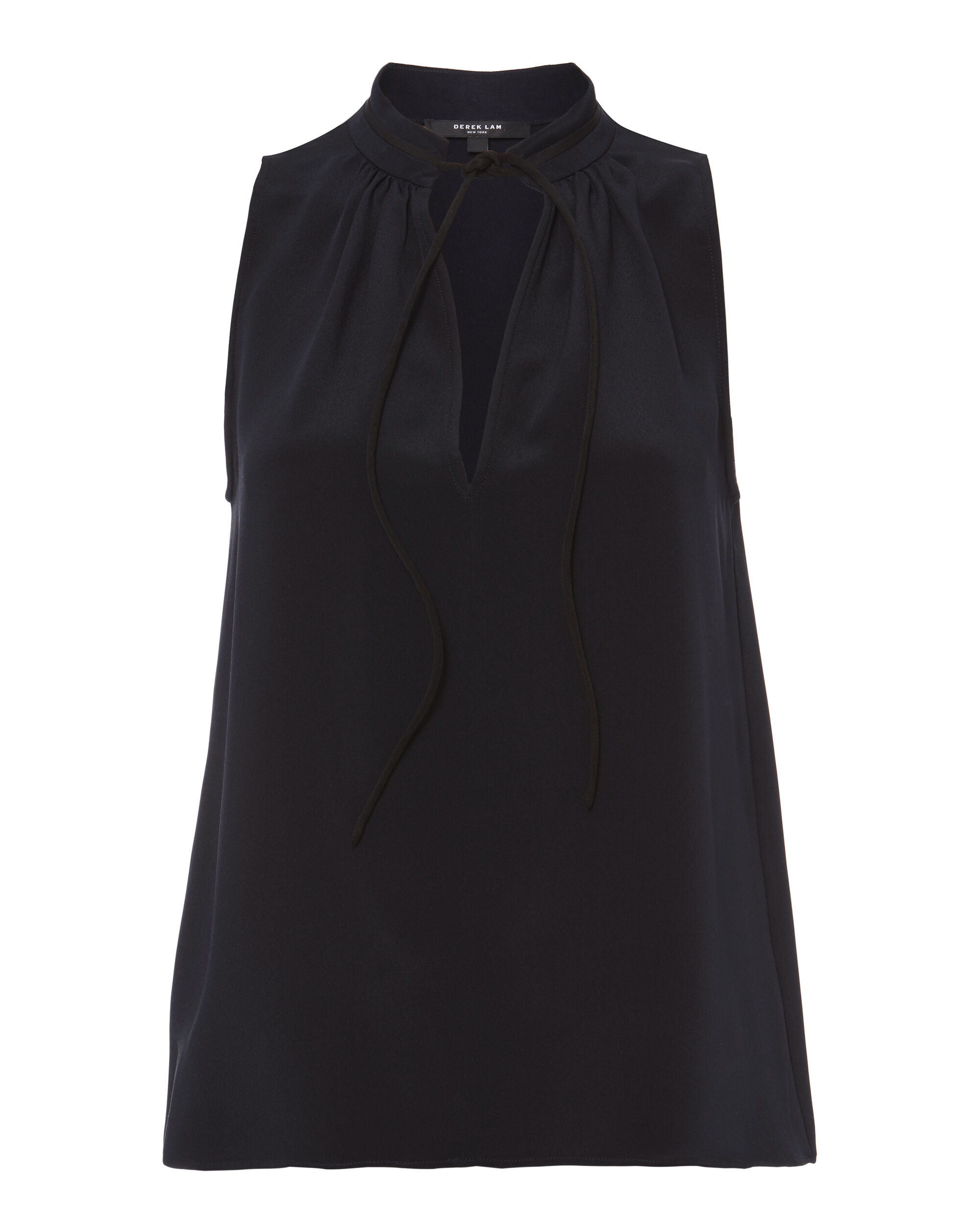 Victoire Sleeveless Blouse, NAVY, hi-res